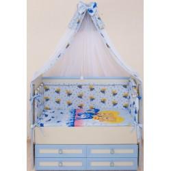 Комплект в кроватку 7 предметов Селена - АРТ. - 59