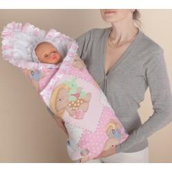 Одеяло на выписку из роддома летом своими руками фото