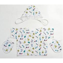 Комплект для новорожденного Селена 9 предметов АРТ. - 03