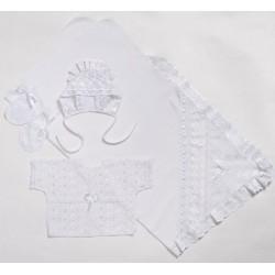 Комплект для новорожденного Селена 4 предмета АРТ. - 04