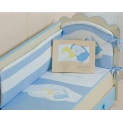 Комплект в кроватку 3 предмета Селена «Мой маленький друг» АРТ. - 50.112