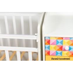 Детская кроватка трансформер маятник Папа Карло Калейдоскоп