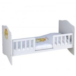 Детская комната Polini Basic Джунгли, 2 предмета: кроватка трансформер+комод