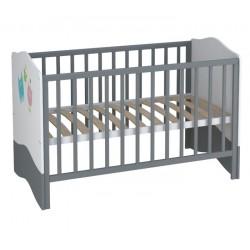 Детская комната Polini Basic Монстрики, 2 предмета: кроватка трансформер+комод