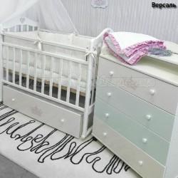 Детский пеленальный комод ByTwinz Версаль