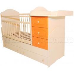 Детская кроватка трансформер маятник Сафаня 2