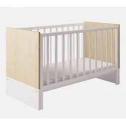 Детская кроватка для новорожденного-трансформер Polini Classic 140*70см
