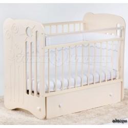 Детская кроватка для новорожденного-поперечный маятник Островок уюта Ля-мур