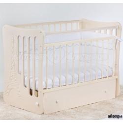 Детская кроватка для новорожденного-поперечный маятник Островок уюта Вояж