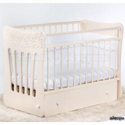 Детская кроватка для новорожденного-поперечный маятник Островок уюта Розали