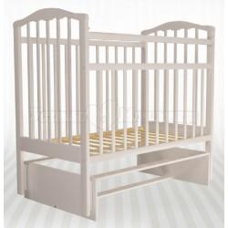 Детская кроватка Агат Золушка-3 - поперечный маятник без ящика