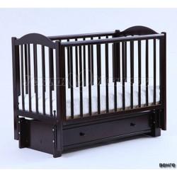 Детская кроватка Кубаньлесстрой (Лель) БИ 38.3 Кубаночка-2 (маятник продольный)