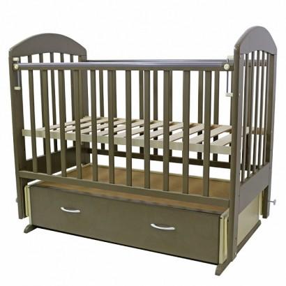 Детская кроватка для новорожденного поперечный маятник ящик Топотушки Дарина-6