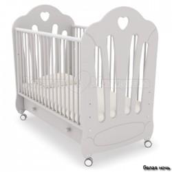 Кроватка для новорожденного Гандылян Стефани (колёса + ящик)