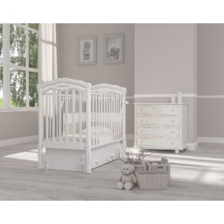 Кроватка для новорожденного Гандылян Шарлотта Люкс универсальный маятник + ящик