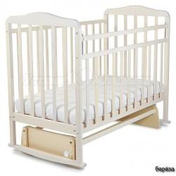 Детская кроватка для новорожденного СКВ Митенька 16400* поперечный маятник