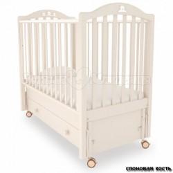 Детская кроватка Mibb Tender продольный маятник с ящиком