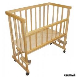 Детская приставная кроватка Мой малыш Кроха