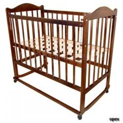 Детская кроватка Мой малыш 05 колёса качалка