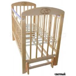 Детская кроватка Мой малыш 09 продольный маятник