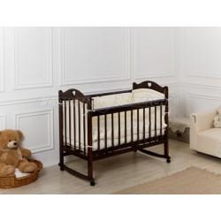 Детская кроватка качалка + колёсики Incanto Sofi