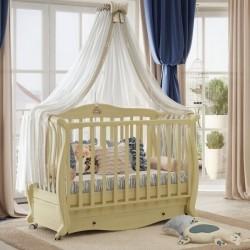 Кроватка для новорожденного Baby Italia Andrea VIP продольный маятник с ящиком