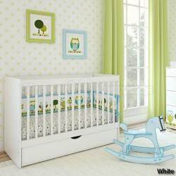 Детская кроватка для новорождённого Giovanni By Shapito
