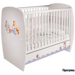 Кроватка для новорожденного Polini Simple 710