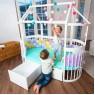 """Комплект трансформации """"Мансарда-дом"""" для кроватки ComfortBaby SmartGrow"""