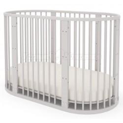 Круглая кроватка трансформер Incanto Lulu 3в1
