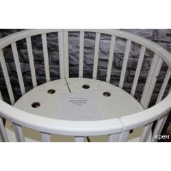 Круглая кроватка трансформер 7в1 Jakomo Noe