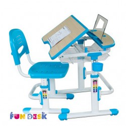 Парта трансформер с ортопедическим стулом FunDesk Colore