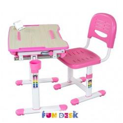 Парта трансформер с ортопедическим стулом FunDesk Bambino