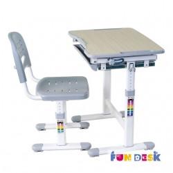 Парта трансформер с ортопедическим стулом FunDesk Piccolino