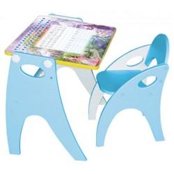 Набор мебели Интехпроект Зима-Лето парта-мольберт-стульчик