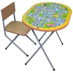 Комплект детской мебели Фея Досуг 202 ПДД