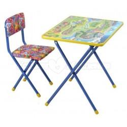 Комплект детской мебели Фея Досуг №2 (стол + стул)