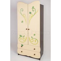 Шкаф для детской комнаты Сафаня Бабочка