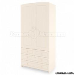 Шкаф для детской комнаты Гандылян двухдверный
