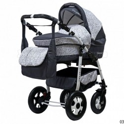 Детская коляска 3 в 1 Giovani PCOF Bartplast