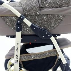 Детская коляска 3 в 1 Platinum 2016 PKLO-F Bartplast