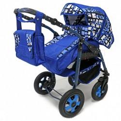 Детская коляска 3 в 1 Platinum PKLO-F Bartplast