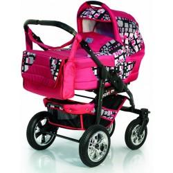 Детская коляска 3 в 1 Sportline PCO-F Bartplast