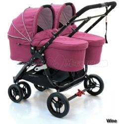 Детская коляска 2 в 1 Valco Baby Snap Duo + Люлька External Bassinet