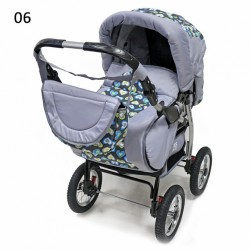 Детская коляска - трансформер Diverte NEW 14 PC Bartplast