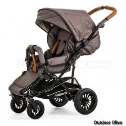 Детская прогулочная коляска EMMALJUNGA Scooter 4s AIR