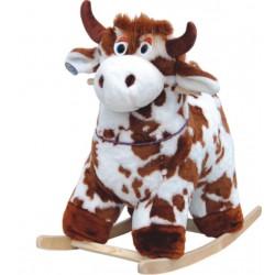 Мягкая качалка Корова