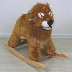 Игрушка – качалка мягкая Лев
