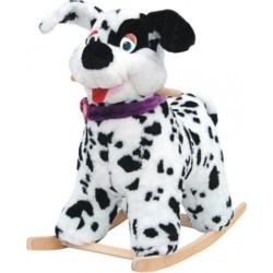 Игрушка – качалка мягкая Собака Весельчак