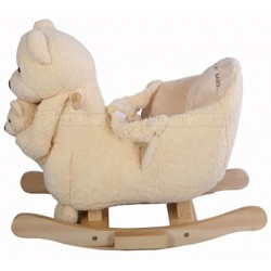 Музыкальная качалка Медвежонок с игрушкой Jolly Ride 2581